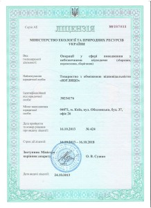 Получить лицензию на опасные отходы