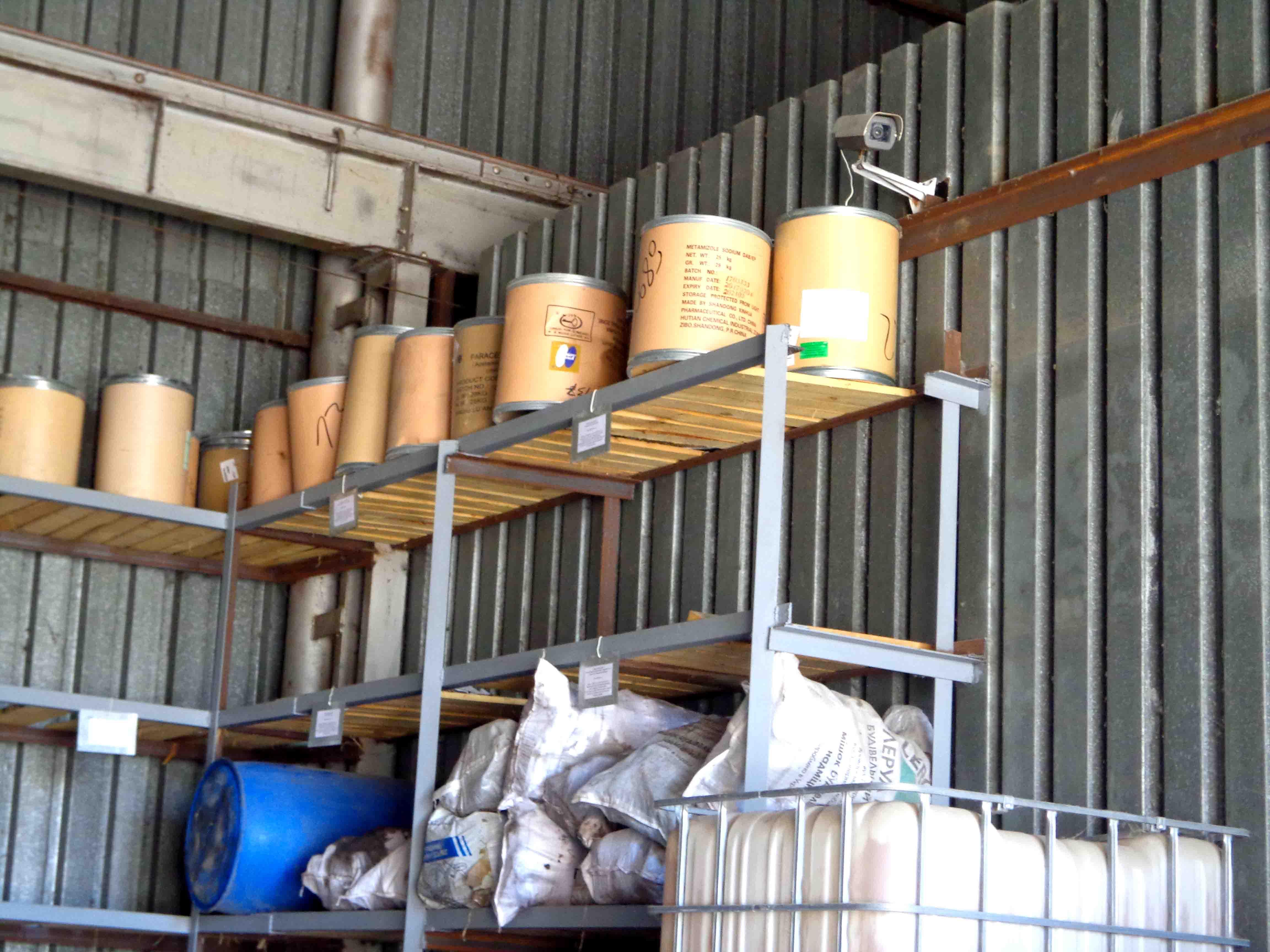 Система видеонаблюдения в складе